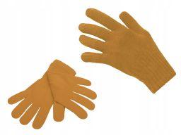 Polskie rękawiczki dzieci miodowy 8 9 10 lat
