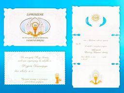 Zaproszenia zaproszenie pierwsza komunia święta