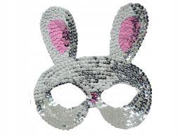 Chs maska karnawałowa zajączek króliczek strój