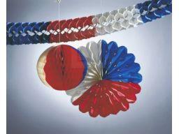 Dekoracje deko-set łańcuch kula girlanda