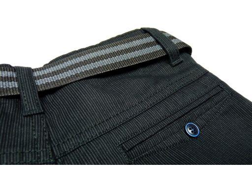 Spodnie wizytowe elegant r 140 cm czarne