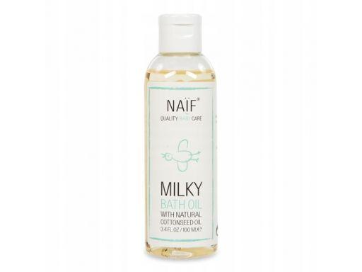 Mleczny olejek do kąpieli dla dzieci naif 100 ml.