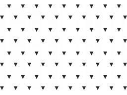 Trójkąty naklejki skandynawskie wzory 5cm 100szt.