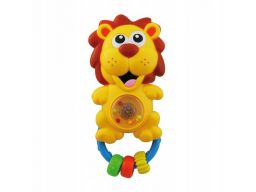 Baby-mix grzechotka plastikowa lew