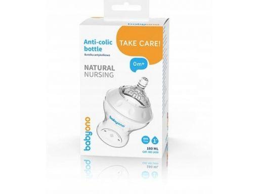 Butelka antykolkowa natural nursing 260 ml babyono