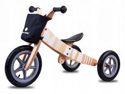 Sunbaby rowerek biegowy drewniany 2w1 twist