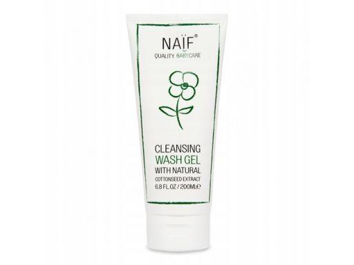 Oczyszczający żel do mycia dla dzieci naif 200 ml.