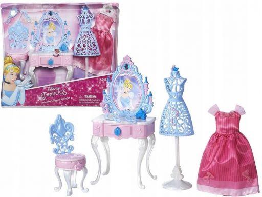 Księżniczki disney mebelki dla lalki pokój mix