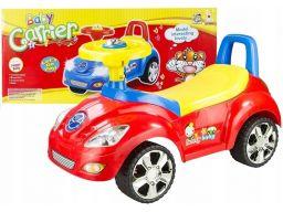 Jeździk dziecięcy baby carrier red światło+dźwięk
