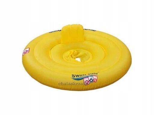 Koło do nauki pływania dla malucha z dnem 37109