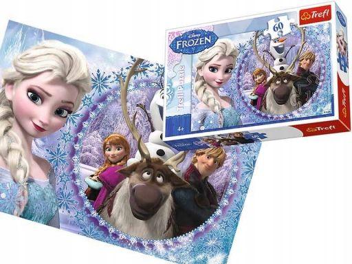 Chs puzzle trefl 60 el frozen kraina lodu 17275