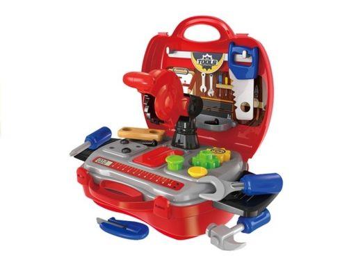 Zestaw narzędzi w walizce dla dziecka 19 elementów