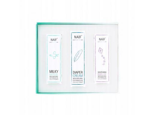 Eko zestaw kosmetyków dla dzieci newborn naif
